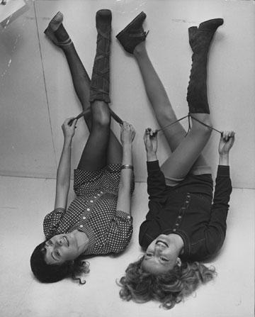 הכי קצר שאפשר. עיצובים ש מרי קוואנט, 1971 (צילום: gettyimages)