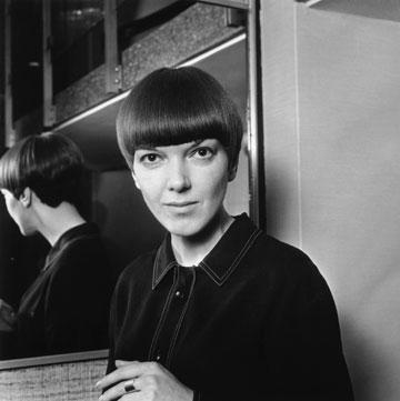 מרי קוואנט, 1964. שיקפה את הרוח המהפכנית של הסיקסטיז (צילום: gettyimages)