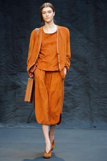 הרמס, תצוגת סתיו-חורף 2012-13. מחברות האופנה החזקות והחשובות בעולם (צילום: gettyimages)