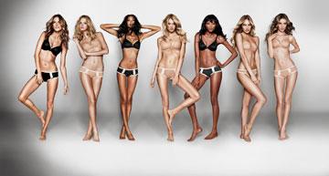 Love Your Body של ויקטוריה'ס סיקרט. התגרות ב''נשים אמיתיות''