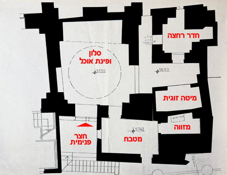 תוכנית הבית (צילום: מיכאל יעקובסון)
