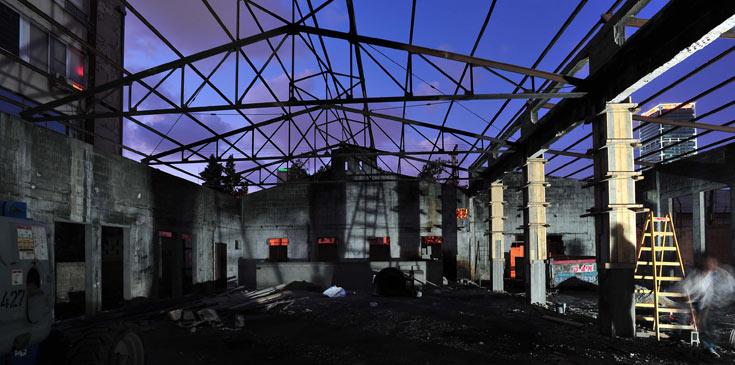 כל השאר נהרס ונבנה ומחדש (צילום: שי-לי עוזיאל )