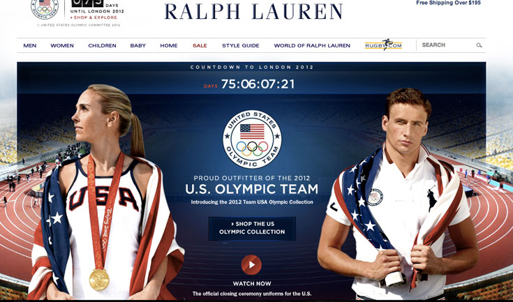 מדי נבחרת ארצות הברית בעיצוב ראלף לורן