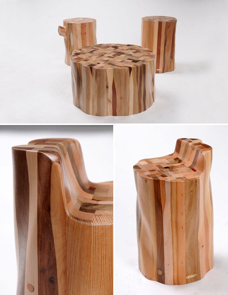 המוצר שזכה בפרס בסינגפור: השרפרף-כיסא מסדרת ''אשכבה''. הציר שבין סוף החיים לתחייה מחודשת (צילום: שחר תמיר)