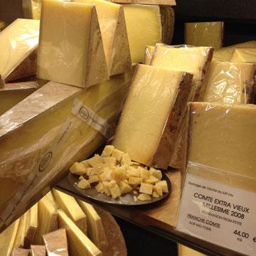 לכו על בציר 2008. גבינת קונטה מיושנת (צילום: שרון היינריך)