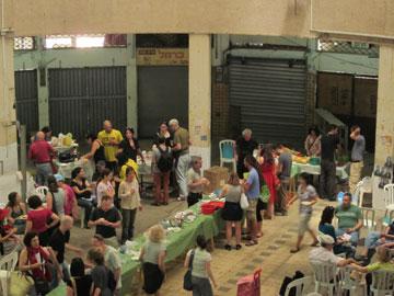 מועדון ארוחת הבוקר בשוק תלפיות. פעם בחודשיים (צילום: אריק רינג)