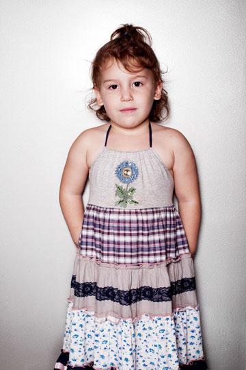 קולקציית הילדות המשותפת תחת השם Tovale's  (צילום: ענבל מרמרי)