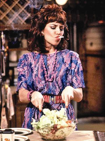 בעונה הראשונה היא עוד בישלה. פגי באנדי