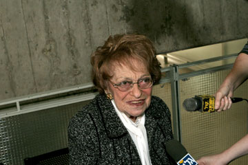 שרה דורון, אשתו של אהרן. ח''כית ושרה בממשלה (צילום: יריב כץ)