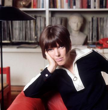 מרי קוואנט, 1965. חתומה על המיני (צילום: gettyimages)