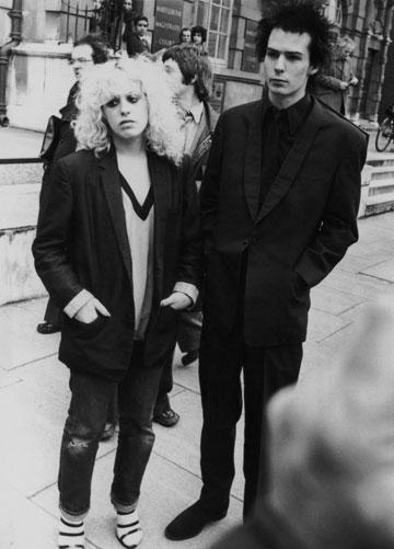 סיד וישס מהסקס פיסטולס וננסי ספונג'ן, 1978. פאנק מלוכלך וזועם (צילום: gettyimages)