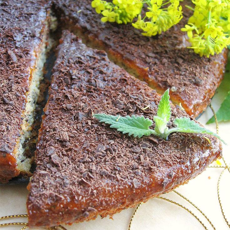 עוגת ריקוטה ואגוזי לוז (צילום: shutterstock)