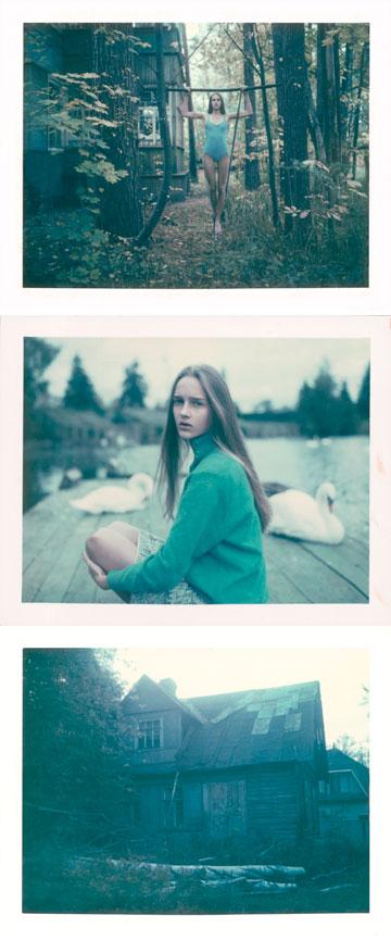 צילומים הנעים על הגבול שבין אופנה לאמנות. מתוך הפקת אופנה שצולמה ברוסיה (צילום: דודי חסון)