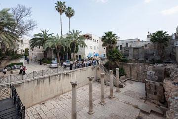 אחת הסביבות העירוניות הייחודיות (צילום: אביעד בר נס)