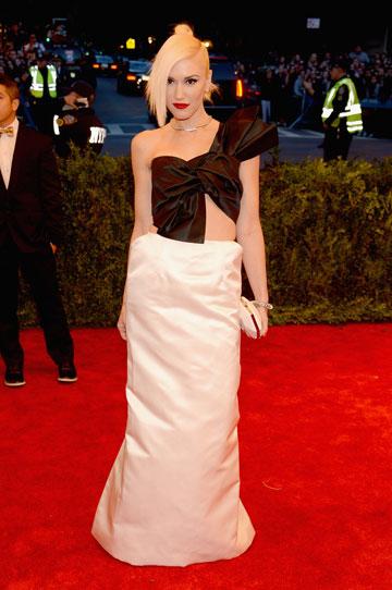 גוון סטפאני. למה היא לא לובשת שמלה בעיצובה? (צילום: gettyimages)