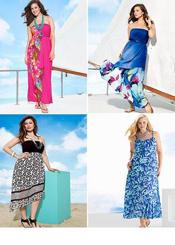 Lane Brayant. יש גם בגדי ים לנשים מלאות (מתוך lanebryant.com)