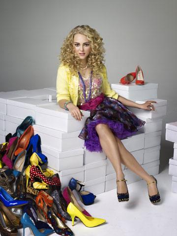 אובססיה לנעליים מגיל צעיר. יומני קארי בראדשו (צילום: באדיבות yes)
