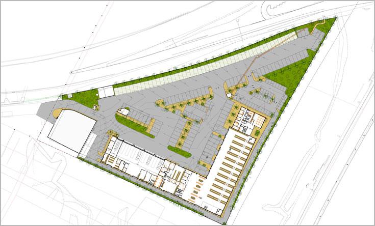 תוכניות המתחם הלוגיסטי החדש של עיריית ת''א-יפו (באדיבות אורבך הלוי אדריכלים מהנדסים בע''מ)