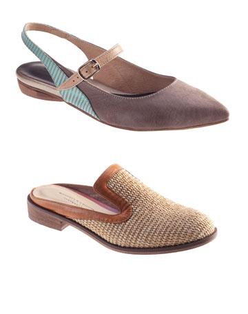 נעליים, כפכפים וסנדלים בהנחות גדולות. דניאלה להבי (צילום: רן גולני)