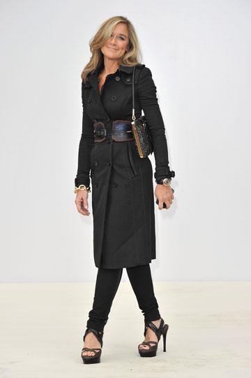 """במקום 53: אנג'לה ארנדטס, מנכ""""לית חברת האופנה הבריטית ברברי  (צילום: gettyimages)"""