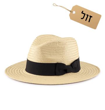 למבנה פנים עגול: כובע פנמה, 60 שקל, H&M (צילום: הנס מוריץ)
