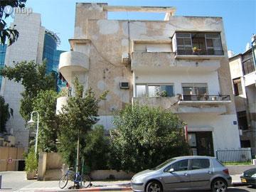 הבניין ביהודה הלוי 89 (באדיבות ymap)