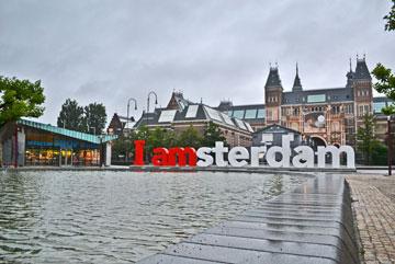 המיתוג של אמסטרדם (צילום: Alex Torres, cc)