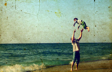 """""""אבי הכניס קצת היגיון בכל הכאוס שבו הייתי שרויה"""". אילוסטרציה (צילום: shutterstock)"""