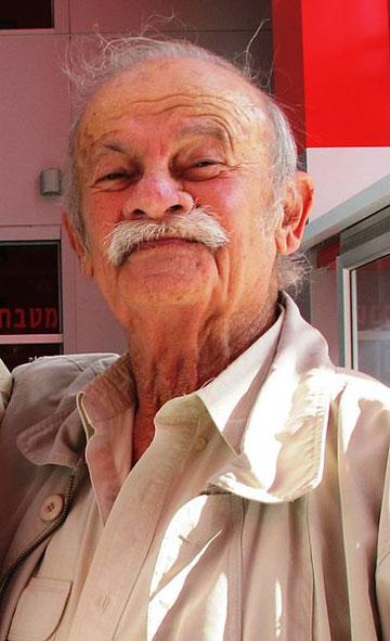 נחום זולוטוב, 1926-2014 (צילום: מיכאל יעקובסון)