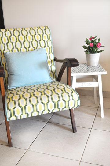 הכיסא המחודש הצטרף לרשימת הרהיטים האהובים (צילום: אביבית ירקוני כהן )
