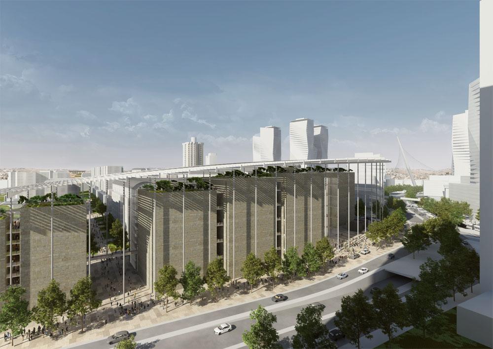 ההצעה של ישר אדריכלים (תכנון: ישר אדריכלים בשיתוף אדריכל כריסוף אינגנהובן)