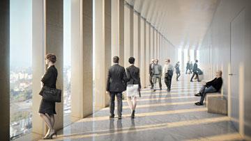 המבואות יהיו פתוחות לציבור (הדמיה: זרחי אדריכלים ו-StudioPEZ )