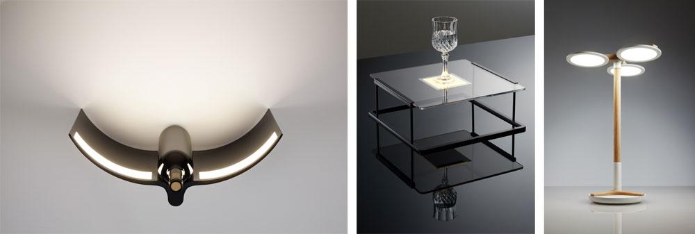הנה אופציות נוספות של ענק האלקטרוניקה הקוריאני, לשימושים שונים של תאורת OLED. סביר שבעתיד הקרוב נראה אותם גם בעיצוב לביש, כמו שעונים, צמידים ועוד