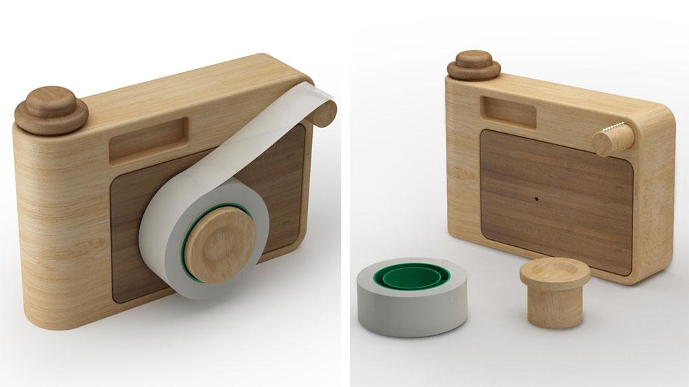 ובקנה מידה אחר לגמרי - סטודיו העיצוב האיטלקי Incipit מציע צעצועים משרדיים עם קריצה למכשירים ביתיים שכבר אינם איתנו: מצלמה, רדיו טרנזיסטור ועוד. באתר החברה