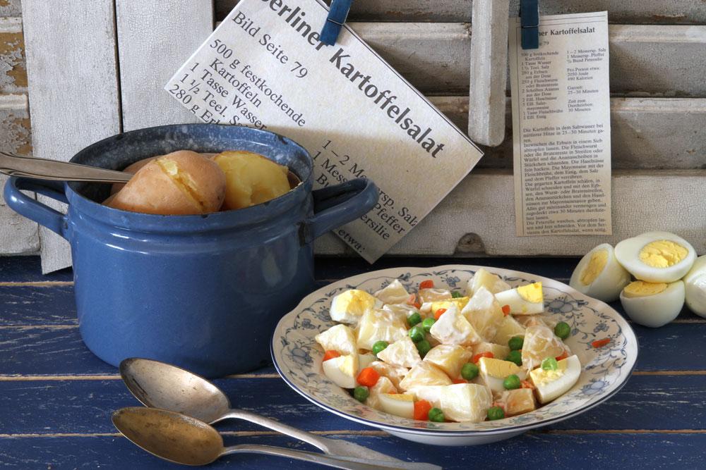 סלט תפוחי אדמה גרמני (צילום: אסנת לסטר)
