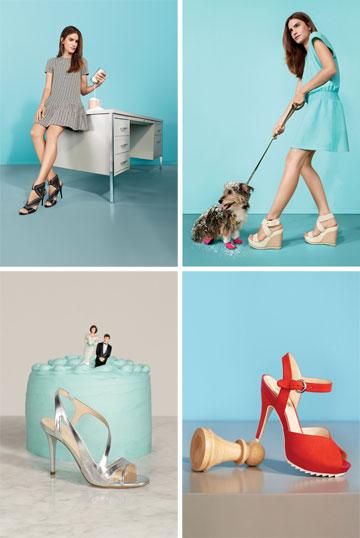 ניין ווסט. קולקציית נעליים המתמקדת בפרשנות למגמות הבוהו, הספורט והרטרו לשנות ה-20 (צילום: קפריצו פארודו)