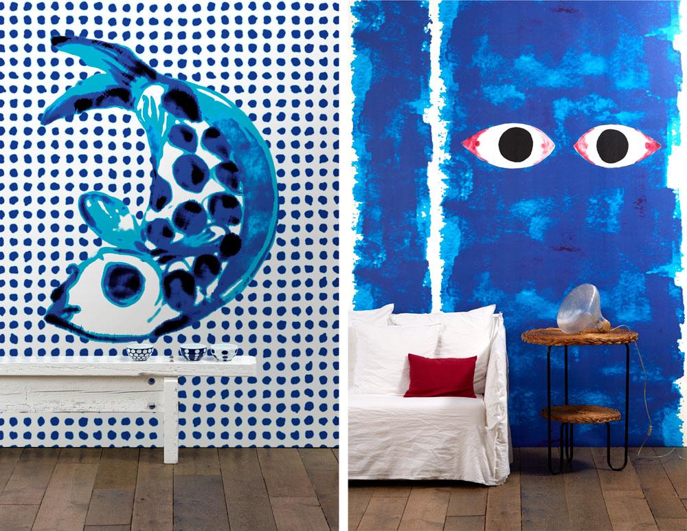 אותו בית עיצוב, שזוכה בפרסים בשנים האחרונות על הטפטים היצירתיים שלו, והפעם בקולקציה חדשה של פאולה נאבונה