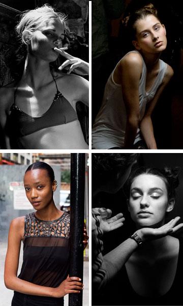 דוגמניות מאחורי הקלעים בתצוגות אופנה, בצילומים של מארק ריי (צילום: מארק ריי)