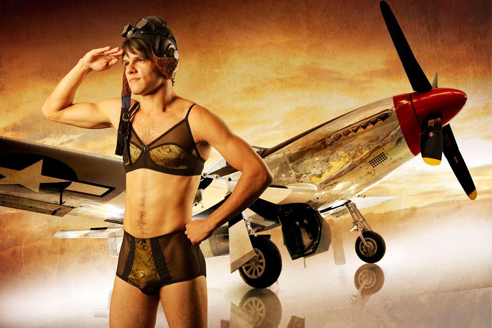 אם יש שוויון בשכר ובקריירה, למה שלא יהיה שוויון גם בבגדים? תמונה מתוך הקטלוג החדש (מתוך HommeMystere.com)