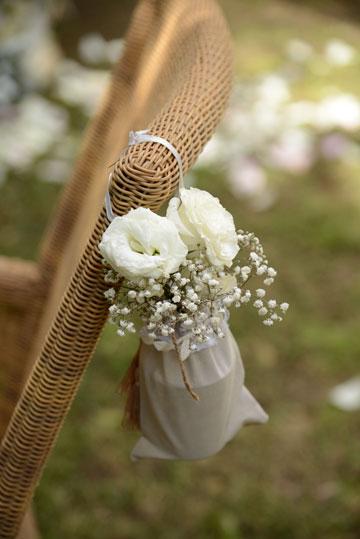 שקיות בד עם פרחים (צילום: מיה לוי)