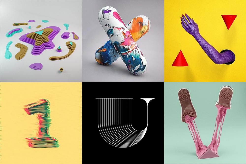 מתוך פרויקט האינסטגרם 36DaysOfType. ''הבנו שהאתגר ליצור בכל יום משהו אחר דוחף להיות מעצבים טובים יותר'', מספרים בני הזוג שיזמו את הרעיון, צלמת ומאייר מברצלונה