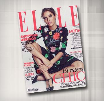 מלכה על שער מגזין ELLE ספרד