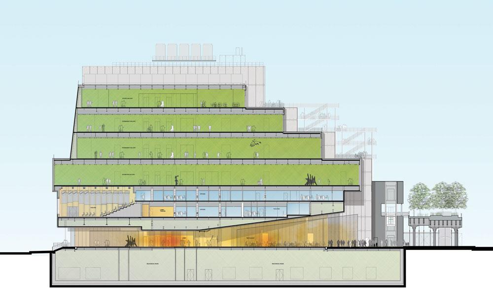 באדיבות Renzo Piano Building Workshop in collaboration with Cooper, Robertson & Partners
