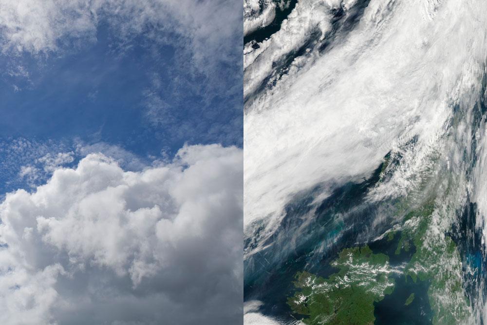בפרויקט רב-המשתתפים שמובילה קרולינה סובצקה, הציבור הרחב מכוון מצלמות לשמיים ולוחץ קליק (באדיבות קרולינה סובצ'קה)