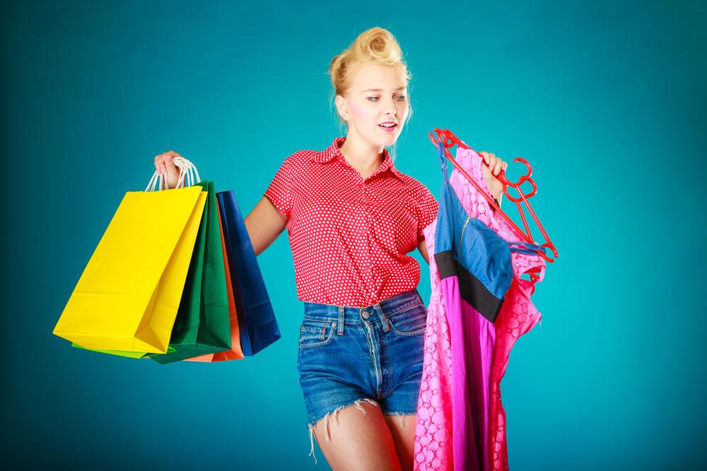 """""""בהתמכרות לקניות יש היאחזות במשהו חיצוני מאוד כדי למלא סוג של ריקנות עצומה או דימוי עצמי נמוך"""" (צילום: shutterstock)"""