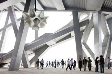 האצטדיון בבייג'ין, הפרויקט הקודם של השלושה (צילום:  Iwan Baan)