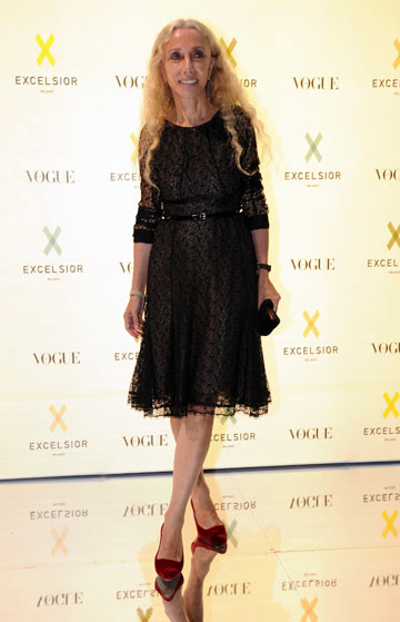 פרנקה סוזאני. ''אופנה הופכת להיות אחד הגורמים לאנורקסיה'' (צילום: gettyimages)