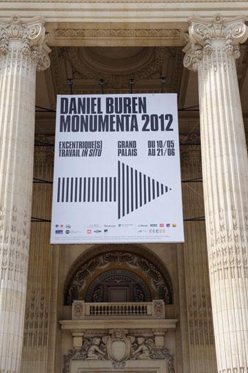 לתערוכה. הגראן פאלה, עד 21.6 (צילום: Daniel Buren ADAGP Paris Photo Didier Plowy)