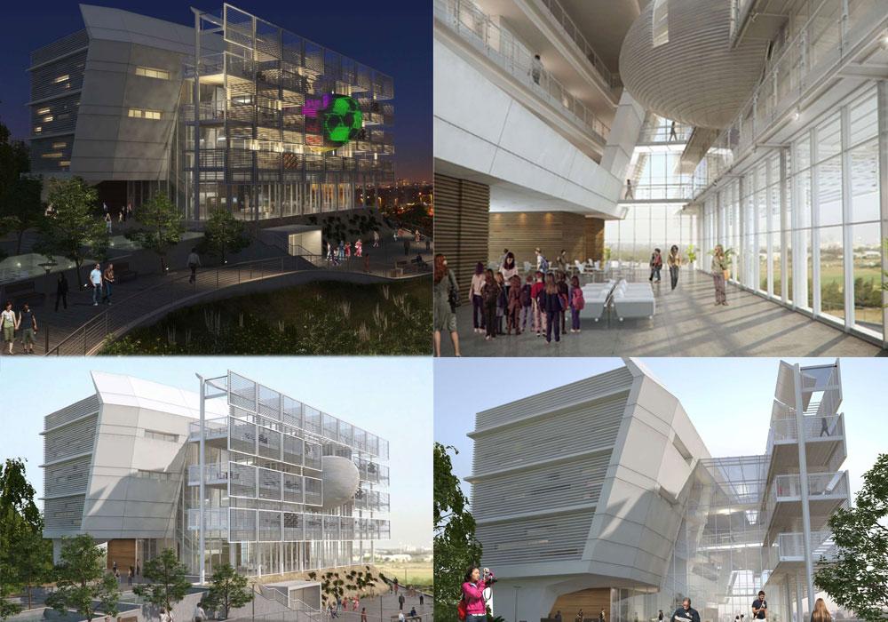 הדמיה: גאוטקטורה אקסלרוד גרובמן אדריכלים חן אדריכלים