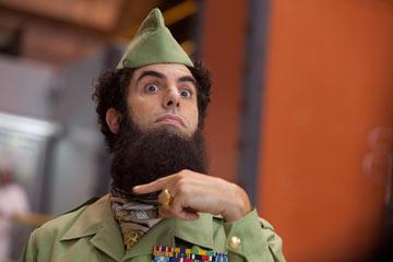 """הרודן העונתי. סשה ברון כהן ב""""הדיקטטור"""""""